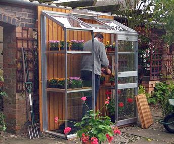 2ft wide Lean-to Greenhouses, UK - Dovetail Greenhouses