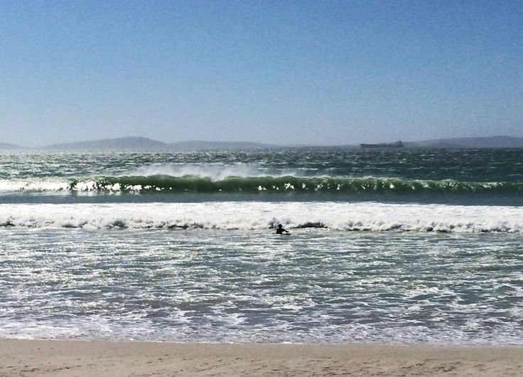 WINDTOWN SURF - My buddy sent through a great photo of the waves that were rolling through in Langebaan yesterday, wish I could have been there!  Photographer: Simon Dowdles  http://www.absolutebeach.co.za/  #langebaan #beachlife #surfing #waves