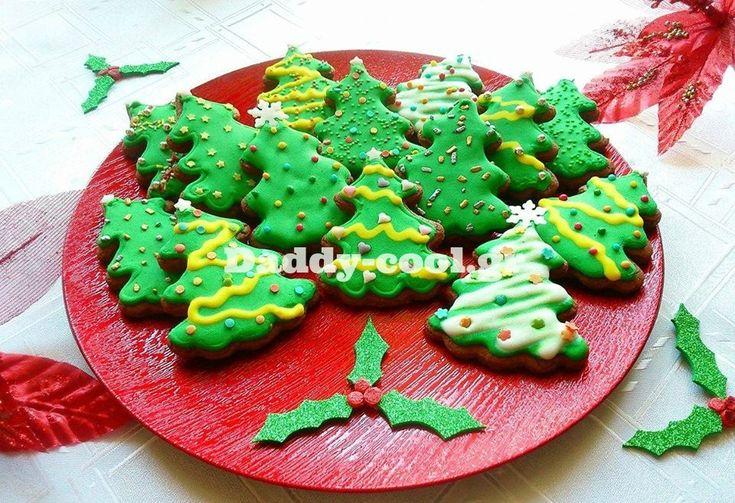 Εύκολα Χριστουγεννιάτικα μπισκότα με μερέντα