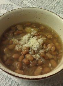 "Today, I learned how to make authentic Mexican Pinto Beans, aka, Frijoles de la Olla, which means, ""Beans right out of the pot."" This is extremely popular in Mexican cuisine and it's ooooh so good…"