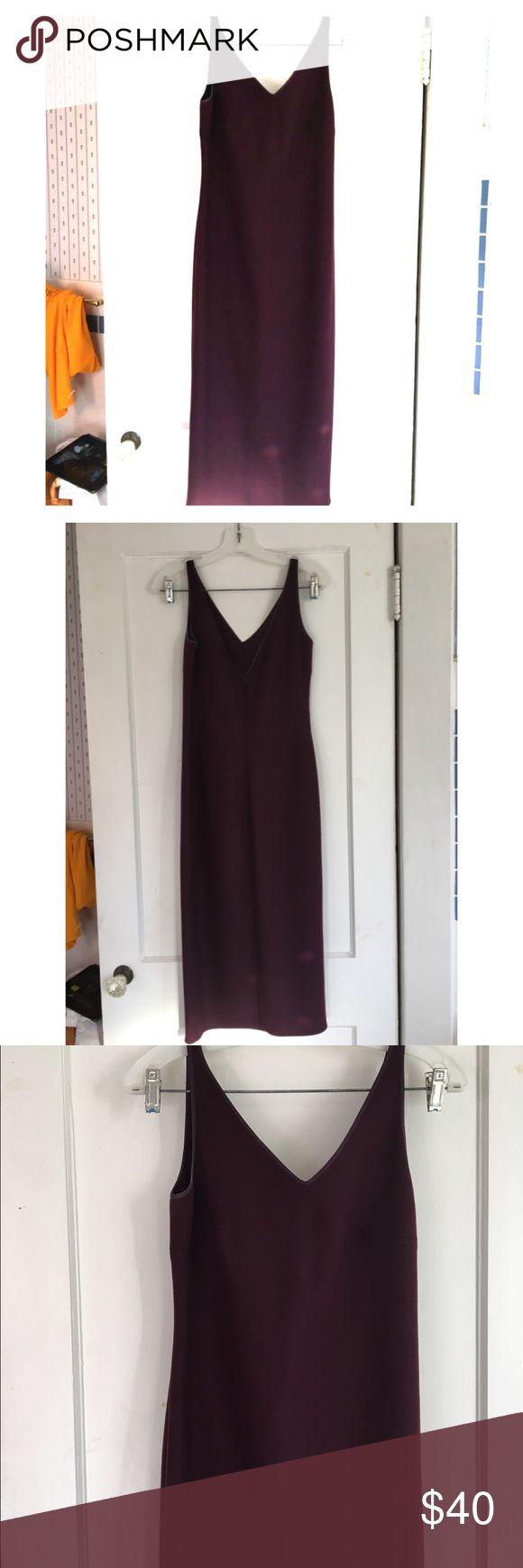 Vintage Wool Maxi Dress Super cute dark purple Vintage Rebecca Mosses maxi dress. In AMAZING condition! No Trades. Vintage Dresses Maxi