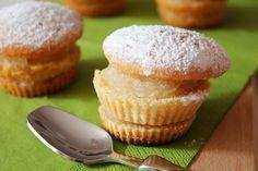 The InSalad Writer: Tortine all'acqua con crema al limone senza latte, uova e burro!