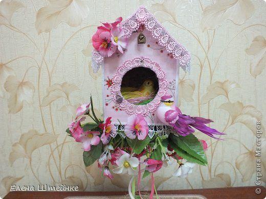 Первый мой топиарий-домик, в котором живет любовь и счастье