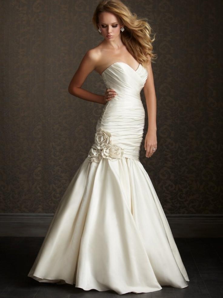 108 best fit flare wedding dress images on pinterest for Short flared wedding dress