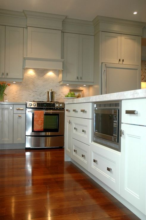 Benjamin Moore Hazy Skies Kitchen Cabinets