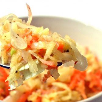 Lengyel savanyúkáposzta saláta recept