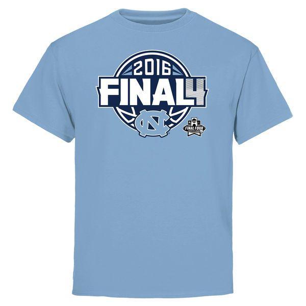 North Carolina Tar Heels Youth 2016 NCAA Men's Basketball Tournament Final Four Bound Charge T-Shirt - Carolina Blue - $16.99