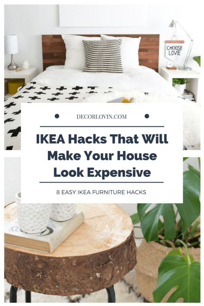 IKEA Furniture Hacks That Will Make Your House Look Expensive