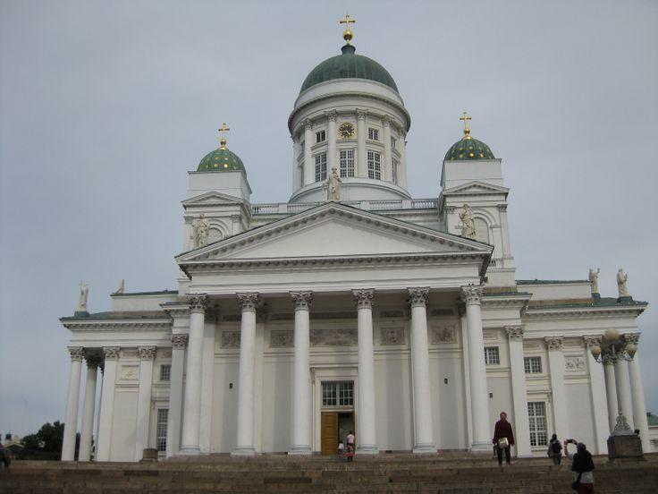 Helsingin tuomiokirkko, Helsinki, Suomi.