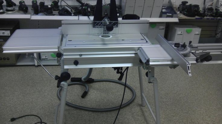 Festool CMS Router Table, A lot of money, a lot of design issues