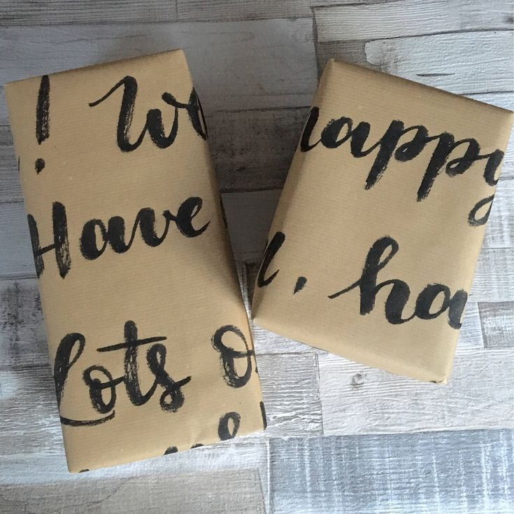 Handwritten gift wrapping, birthday paper, personalised wrapping paper on https://www.etsy.com/uk/listing/551731246/handwritten-gift-wrapping-birthday-paper #wrappingpaper #happybirthday #handwrittenwrappingpaper