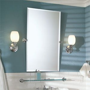 View the Ginger 0142N Frameless Mirror from the City 212 Collection at FaucetDirect.com.