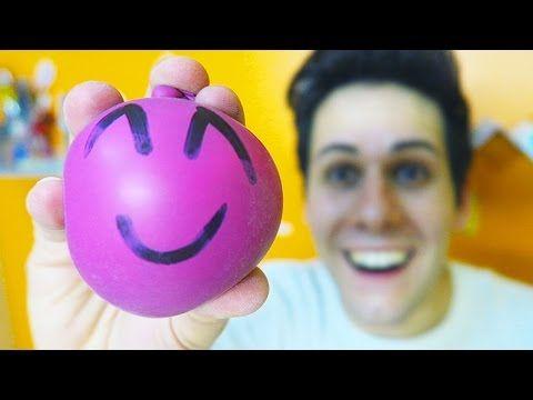 COME FARE LE PALLINE ANTI-STRESS! (Creazioni Incredibili) #3 - YouTube