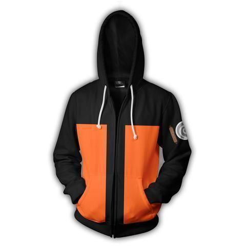 c3db010dc31e4f Naruto Hoodies - Naruto Uzumaki Unisex 3D Zip Up Jacket – 3dVogue