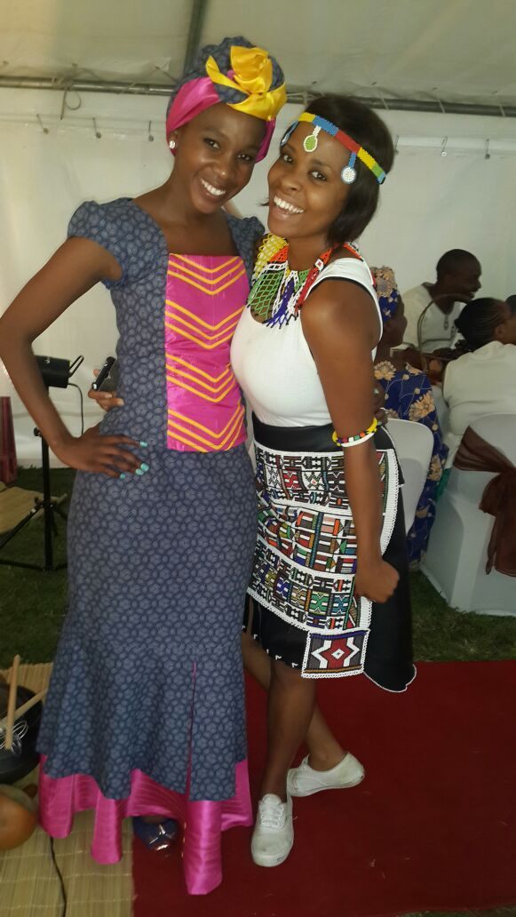 Tumi with her sister in law Kholo...