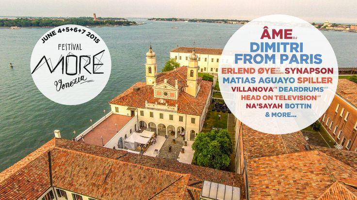MORE Festival Venezia 2015 biglietti omaggio