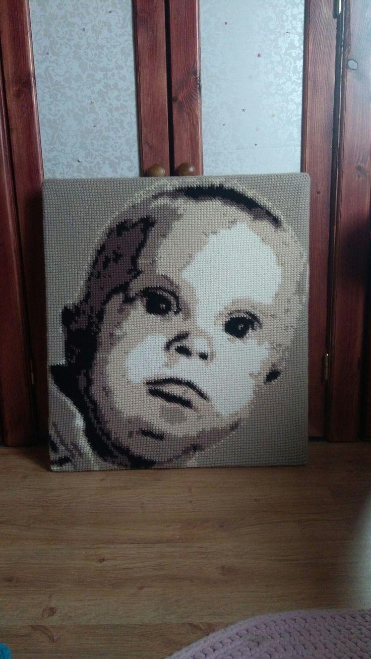 Crochet portraits