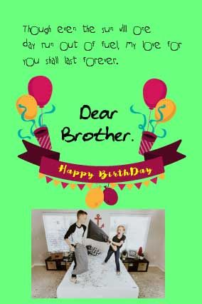 best gift for brother on his birthday birthday letter for brother pinterest birthday birthday letters and brother