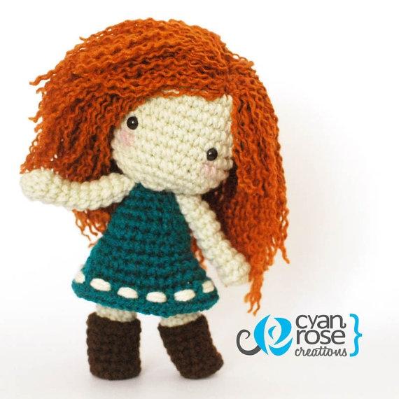 Designer Crochet Amigurumi Patterns Merida Warrior Princess : 17 Best images about Awesome on Pinterest Amigurumi doll ...