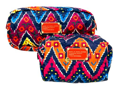 love these marc jacobs make up bags: Fashion, Make Up, Pattern, Style, Marc Jacobs Bag, Makeup Bags, Marc Jacobs Makeup, Africans