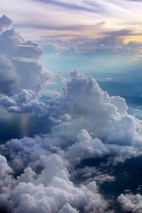 Peacful  Beautiful cloud's