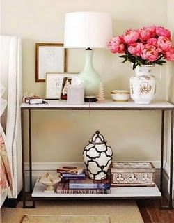 : Decor, Interior, Ideas, Console Table, Nightstand, Bedside Tables, Bedroom, Night Stand