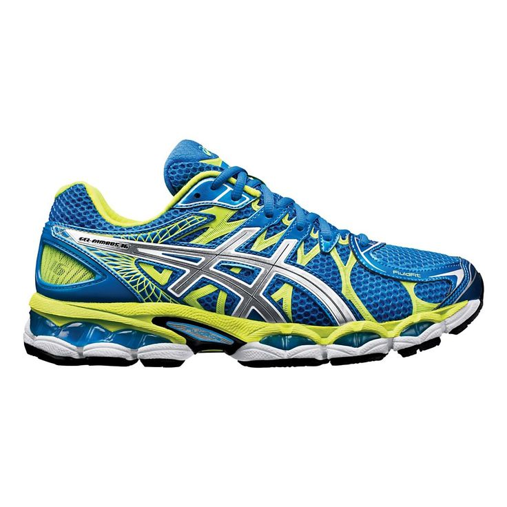 Looking to do a little cloud hopping? Well, look no further now that youve discovered the newly updated, plusher than ever Mens ASICS GEL-Nimbus 16 running shoe