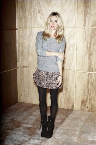 Sienna Miller - wearing her own label 'Twenty8Twelve'