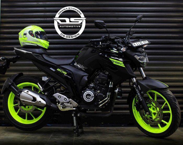 Yamaha Fz25 Vr46 Edition By Ds Design Chennai