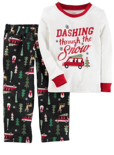 2d46c75b0 Sleepwear 147336: Carters Baby Boys Santa Claus Holiday Christmas Pajamas  Pjs Tree 24 Months -> BUY IT NOW ONLY: $11.99 on #eBay #sleepwear #carters # santa ...