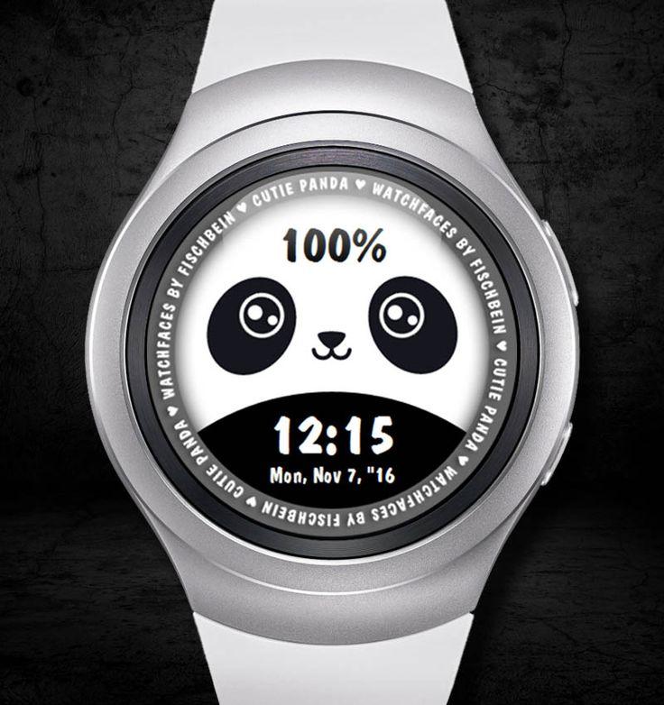 Cutie Panda 24h – Watchfaces by Fischbein