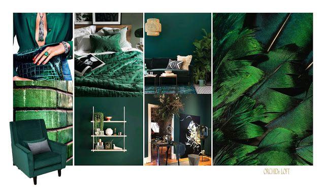 Orchids loft: Green Decor | Grünes Dekor