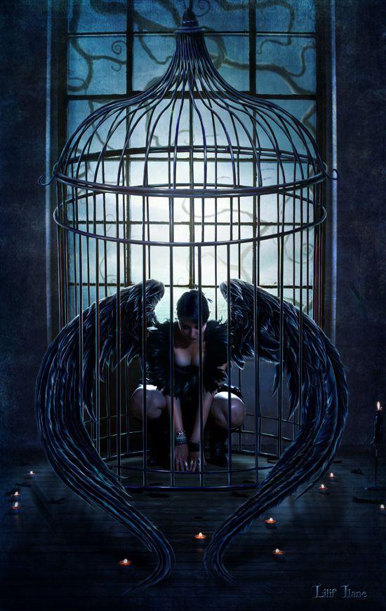 imagenes-arte digital-un oscuro cuento de hadas