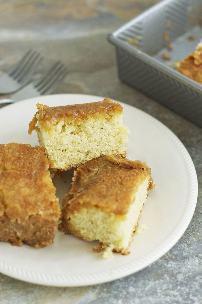Caramel Cake Gluten Free is a super delicious and moist cake that my family raves about! /LetsBeYummy.com