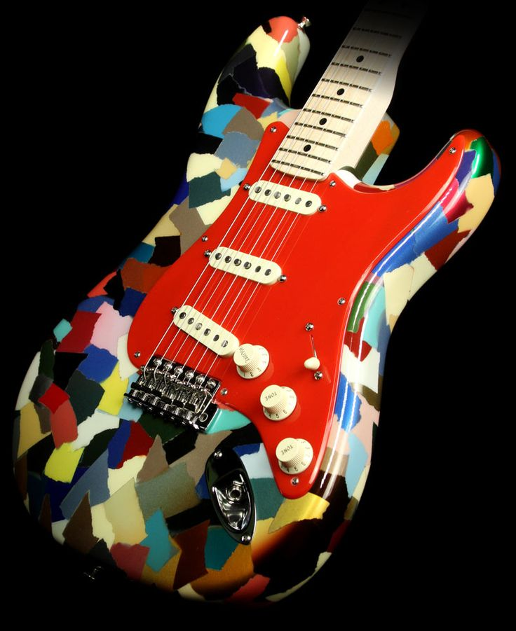 Fender Custom Shop Dale Wilson Master Built Stratocaster Electric Guitar Clown Patch
