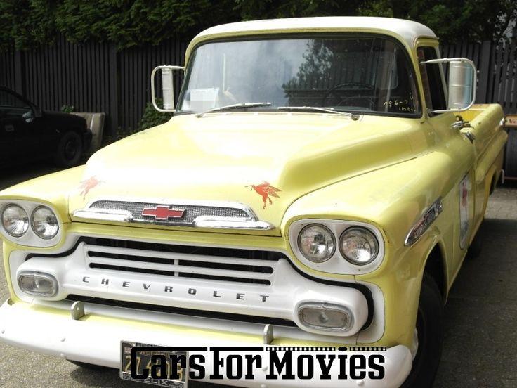 Chevrolet Apache Pickups Aus 1959 Ab Niedersachsen Mieten Für Film Foto Oder Werbeproduktionen Steht