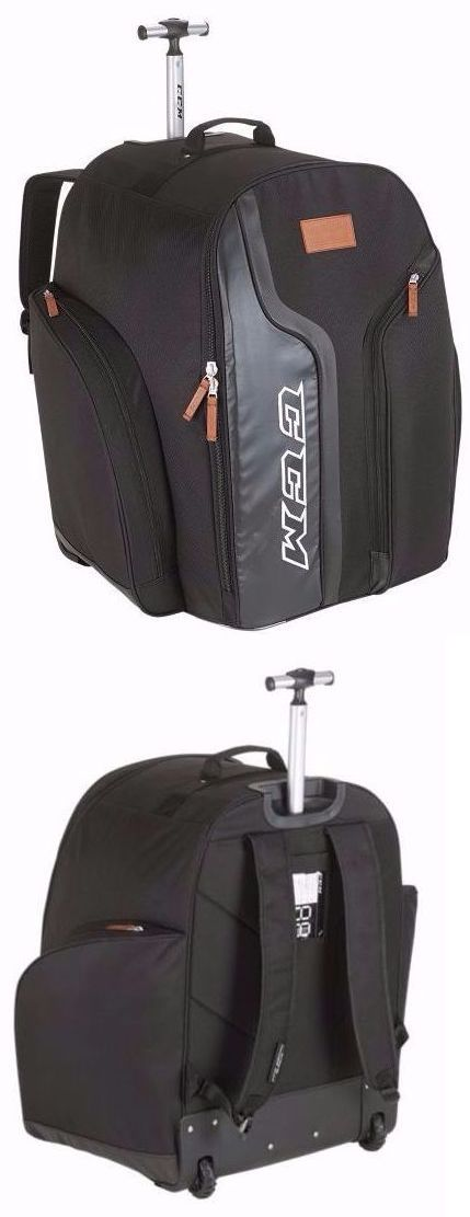 Other Hockey Clothing and Gear 165934: Ccm 290 Player Wheeled Backpack Ice Hockey Bag Large -> BUY IT NOW ONLY: $149.99 on eBay!