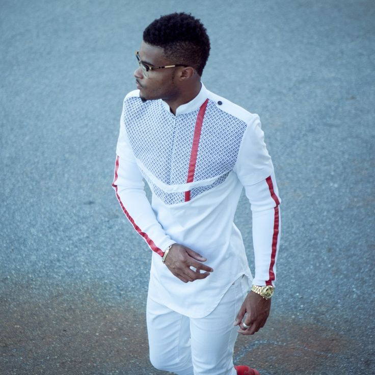 We experimented with bridging the gap between contemporary African outfits and edgy streetwear sometimes last year...