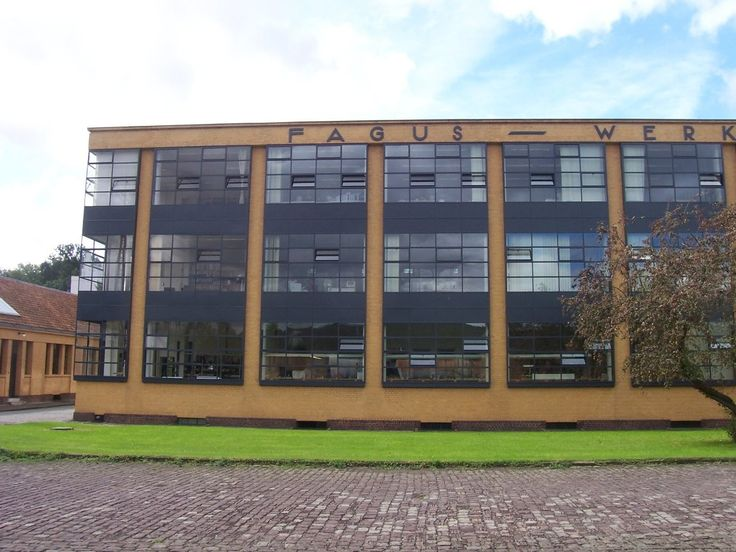 AD Classics: Fagus Factory,via Wikipedia Commons