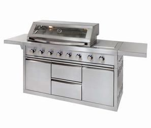 PLATINUM II 6 BNR STAINLESS STEEL GAS GRILL