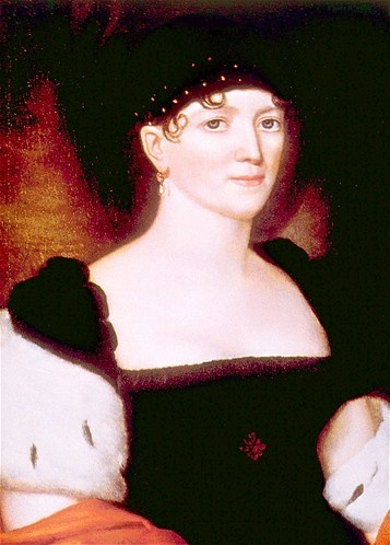 Elizabeth Monroe.  Married to James Monroe, who was in office 1817-1825. ~ (© Everett Collection Inc./Alamy)