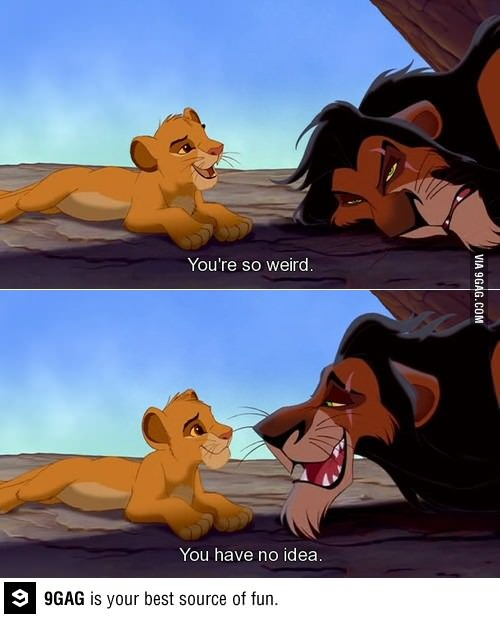 Scar has got to be one of the most relatable Disney characters.