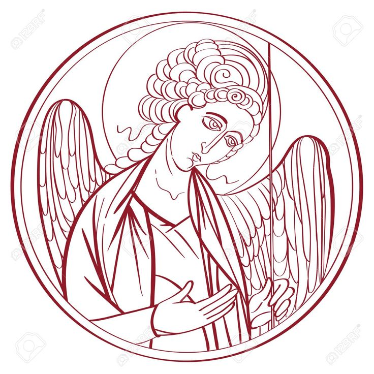 Image result for orthodox angel graphic