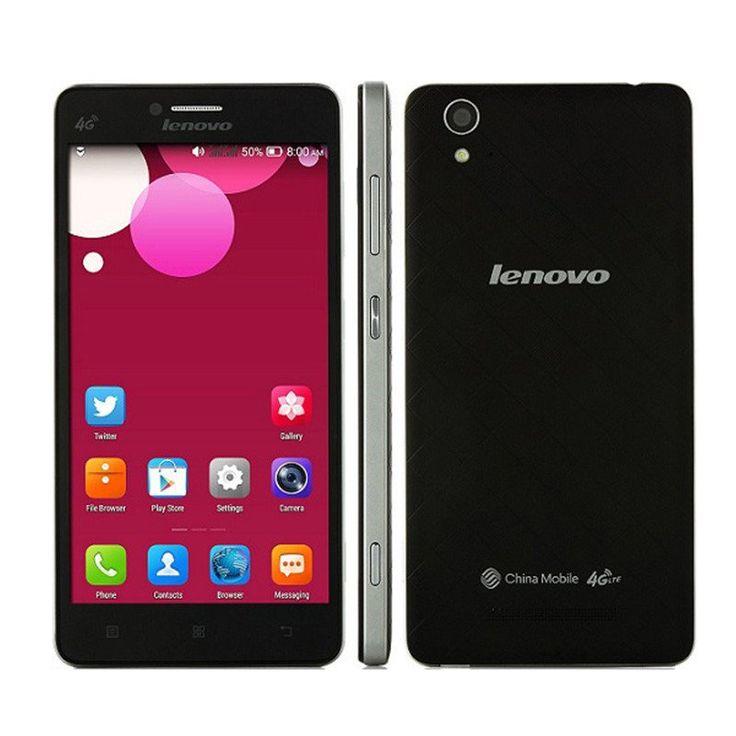 "Original Lenovo A858w MT6732 Quad Core 1.5GHz FDD LTE 4G WCDMA 3G Android 4.4 5"" FHD 1280*720P 13MP Dual Sim Smart Mobile Phone"