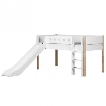 Fusion Bunk Beds - 162 Inseparable - White | Diddle Tinkers