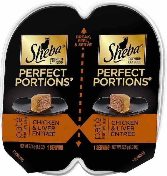 Sheba Perfect Portions Cat Food Only $0.35/Each At Walmart With Printable Coupon!
