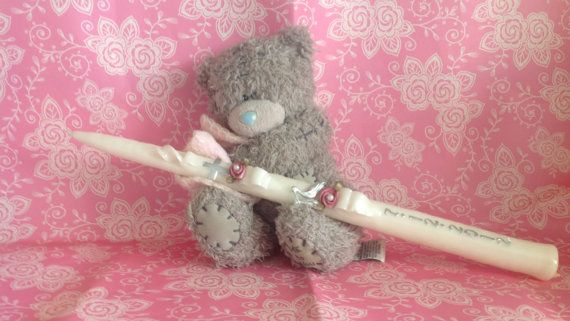 Hand carved Christening / confirmation / communion by artofcandles, £6.99