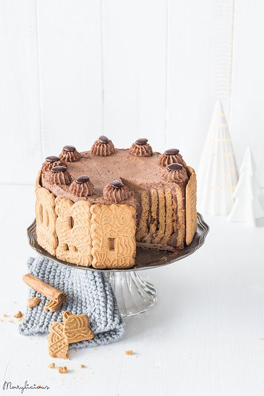 Spekulatius-Schokoladen-Torte mit Pudding Marylicious