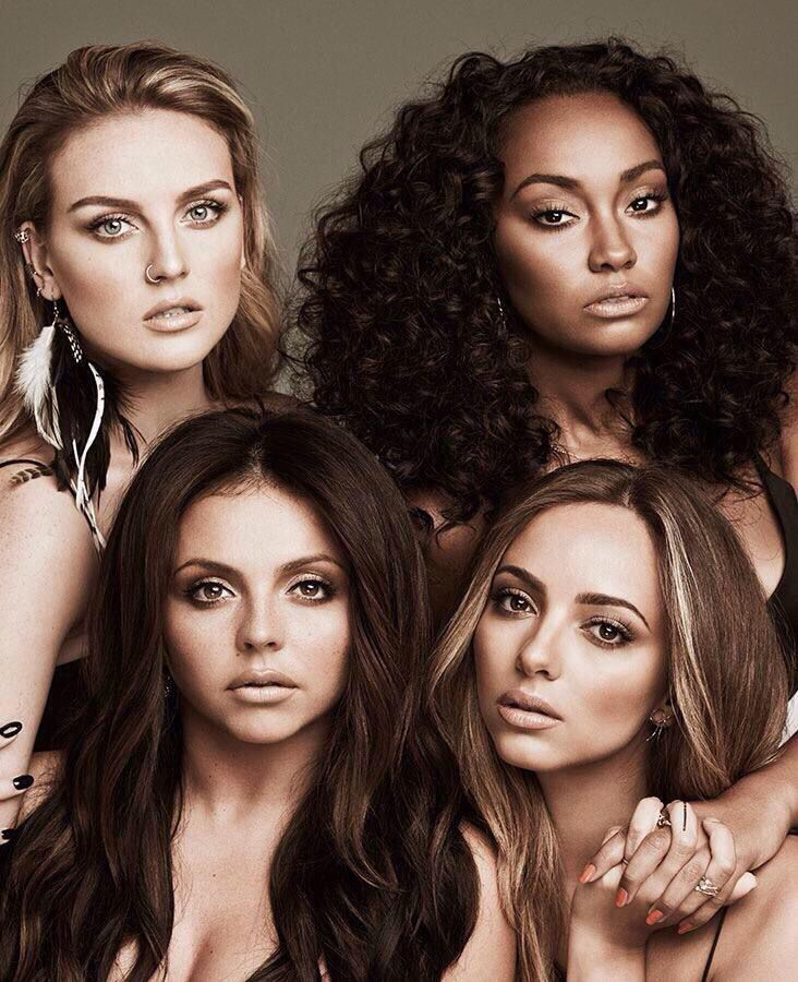 Little Mix You'd fit in with Leigh-Anne, Perrie, Jade and Jesy's friendship just fine and cast a spell over the 'Black Magic' group with your awesome style and personality.