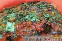 Фото к рецепту: Баклажаны в духовке по-гречески